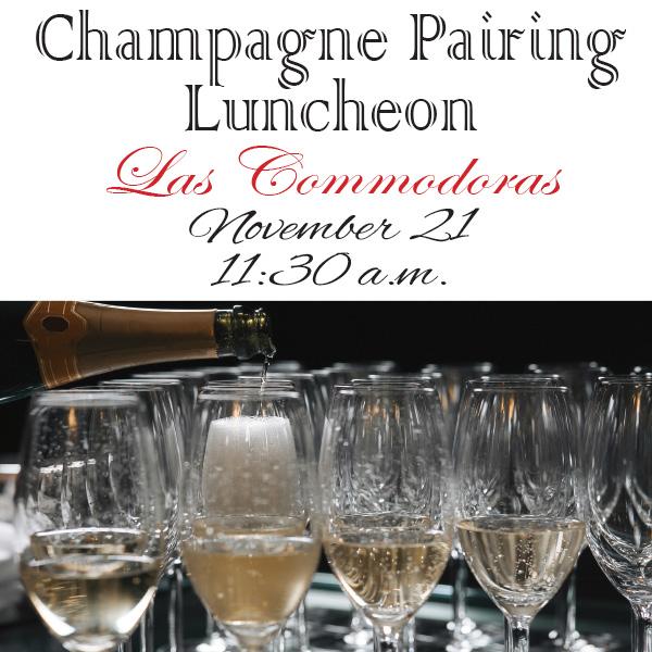 Las Commodoras Champagne Pairing