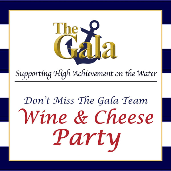 The Gala Wine and Cheese Party