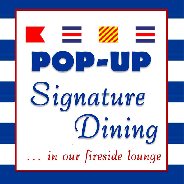 Pop Up Signature Dining