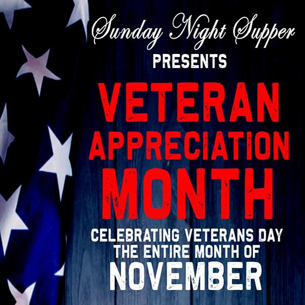 Veteran Appreciation Month